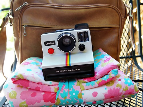 the camera bag & Polaroid