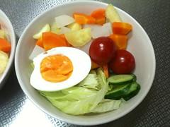 朝食サラダ(2011/8/9)