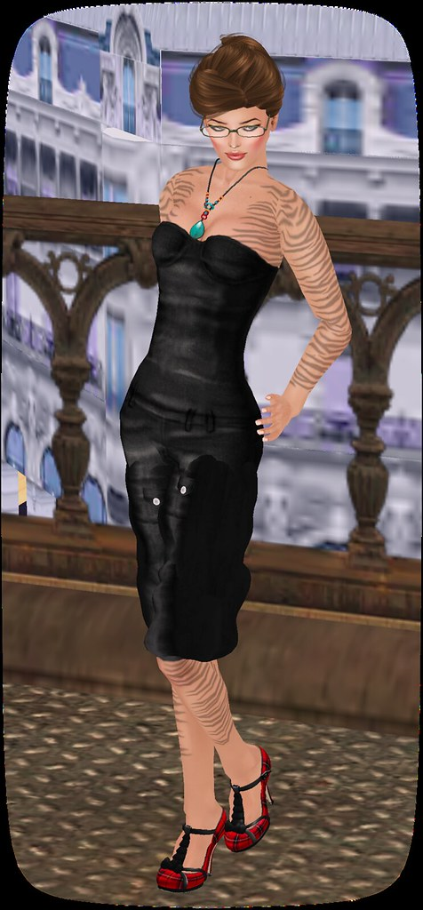 Retro JeansSuit black by Retro and Angel Group Gift Hair!