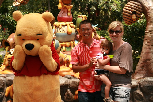 Everyone loves Pooh Bear except C