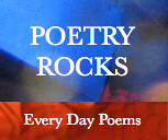 Poetry Rocks Blue