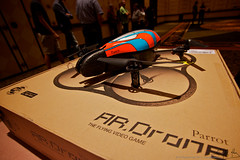 Parrot AR Drone flights