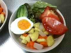 朝食サラダ(2011/8/10)