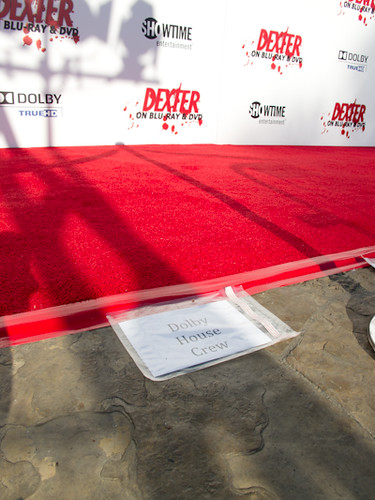 Dolby's spot on the red carpet