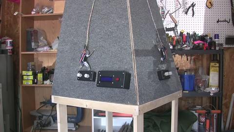 Peak 97, a homemade climbing arcade game