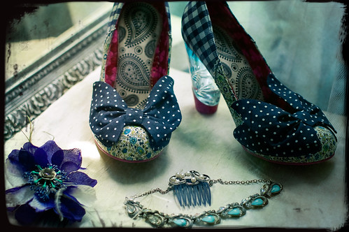 my awesome shoes and handmade accessories