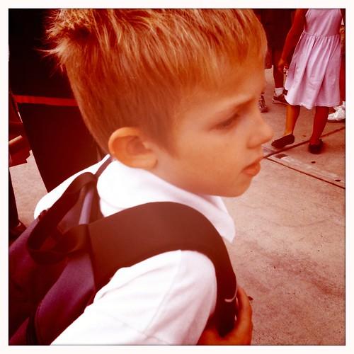 ready to go to school by Jacks mom