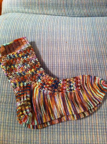 Harvest Dew socks finished! by BlueDragon2