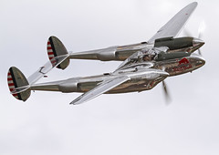 Duxford Flying Legends 2011 (plain spotter) Tags: duxford lightning flyingbulls p38 flyinglegends