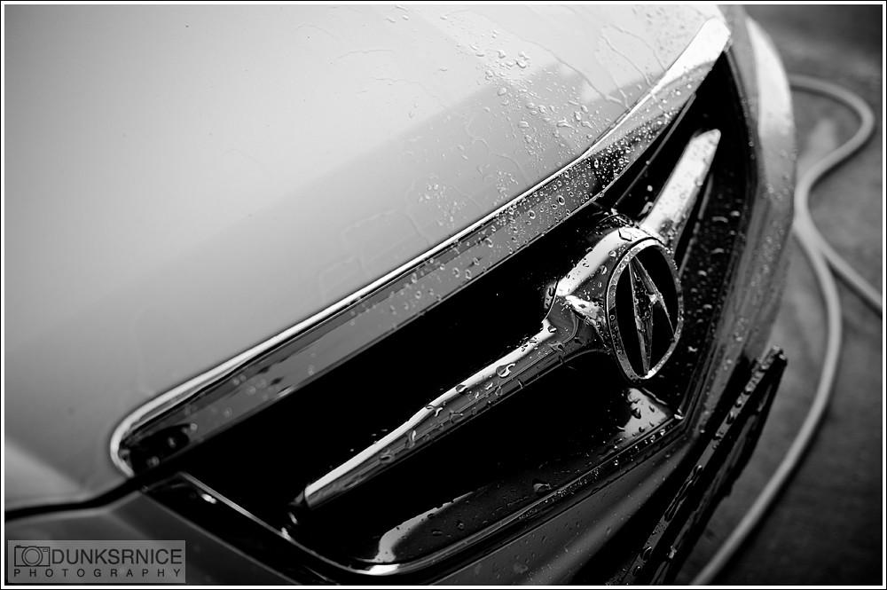 Acura B&W.
