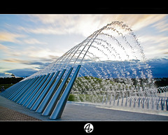 Creative Fountain (Az. Abdulrahman Alzahim) Tags: park travel bridge flowers winter sunset sea summer portrait sky food house snow macro art fall sports nature water birds night sunrise canon landscape photography waterfall spring nikon women opera photographer action harbour sydney australia az 200 olympic 18 tamron hdr  photographe  2011         1000d   stunningphotogpin best4gpin