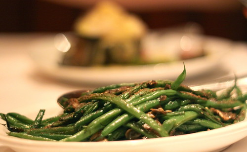 Fleming's Steakhouse - Sauteed French green beans