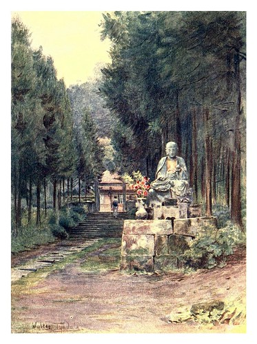 015-Estatua de Jizo en Hakone-Japan & the Japanese 1910- Walter Tyndale