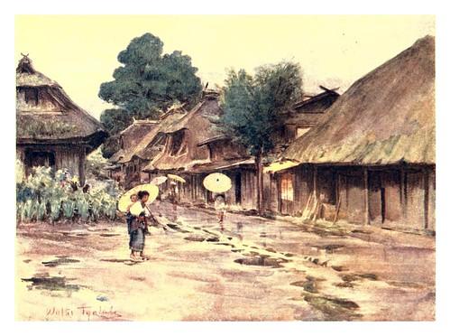 011-Un dia lluvioso en Motosu-Japan & the Japanese 1910- Walter Tyndale