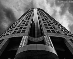 Weathered Steel (Scholesville) Tags: architecture dark nikon skies steel weathered gloom d5000