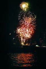 Dumbo (Amira Rosenbush) Tags: summer film brooklyn canon fireworks