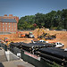Construction work already underway for the new Talley Student Center addition.