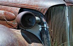 Junker (LeftCoastKenny) Tags: car nikon rust chrome ghosttown bodie easternsierras d80