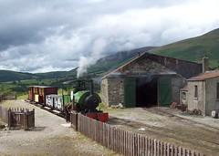 Threlkeld Mining Museum, Cumbria - 040ST 'Sir Tom' (Tom Burnham) Tags: uk museum train shed railway loco steam cumbria quarry narrowgauge threlkeld bagnall