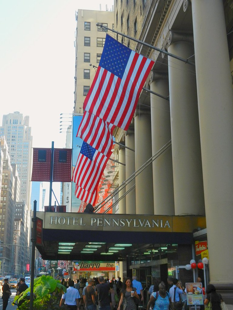 New York's Hotel Pennsylvania