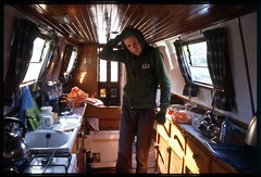 Canal boat 2 (Lucian Lanteri) Tags: kitchen boat hoodie hood canalboat galley boatgalley lucianlanteri