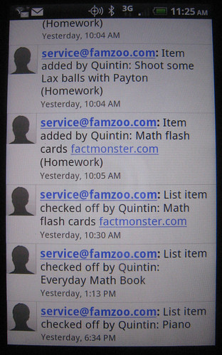 Automatic Text Notification On Check-off