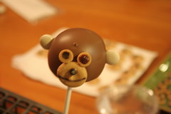 2nd try: Monkey cakePops