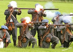 Flash in the Pan (day_sargent) Tags: history scotland war military battle battlefield reenactment selkirk firearms livinghistory scottishborders sealedknot philiphaugh