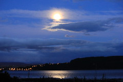 Inverness from across the Beauly Firth at night (ColGould) Tags: night scotland inverness beaulyfirth