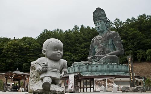 Daibutsu at Seiryū-ji