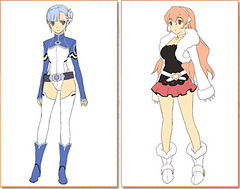 110819 - 「佐藤竜雄」總監督的最新科幻動畫《輪廻のラグランジェ》將於2012年正式開播!