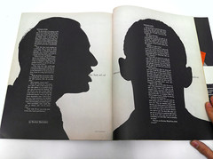 Spread in Show magazine by Henry Wolf (Herb Lubalin Study Center) Tags: henrywolf showmagazine