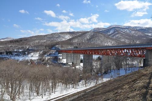 小樽途中赤橋
