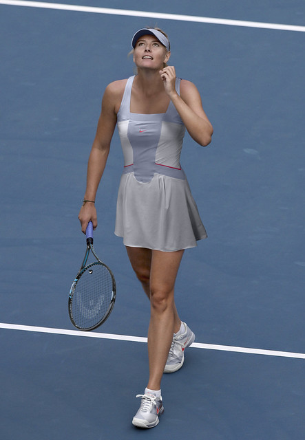 Maria Sharapova US Open outfit