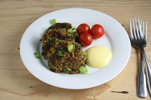 Black Bean and Quinoa Cakes
