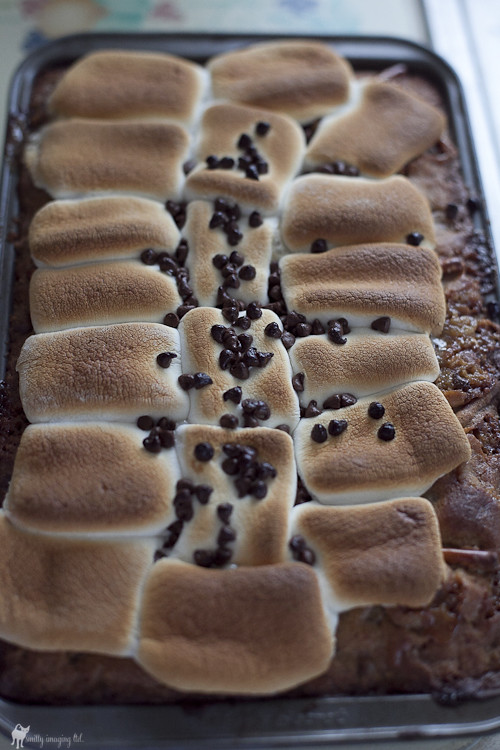 Marshmallow Cookie Bars