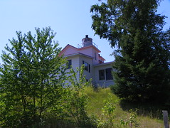 Eagle River Lighthouse (J. Stephen Conn) Tags: mi michigan keweenawcounty