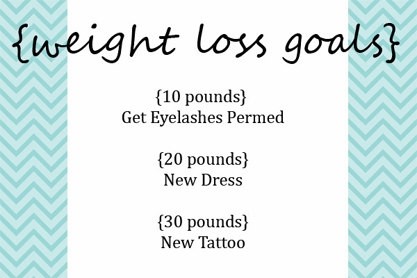 weight loss goals copy
