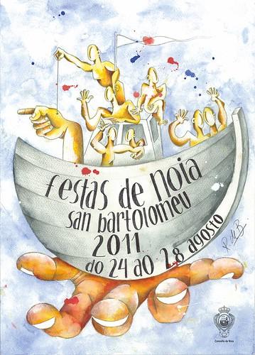 Noia 2011 - Festas de San Bartolomeu - cartel