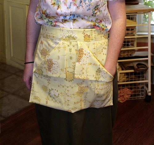 Pillowcase Clothespin Apron