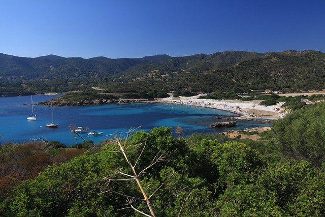 Another fine spot on Sardinia's Costa del Sud...