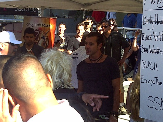 Sunset Strip Music Festival 2011: Gavin Rossdale