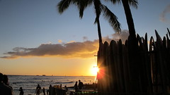 Sunset Waikiki Surfboards (Off the Path Productions) Tags: hawaii oahu waikikibeach hawaiibeach hawaiisunset waikikisunset