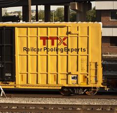 TTX (Hogarth Ferguson) Tags: new train logo point graffiti baltimore boxcar locust brand freight ttx fbox