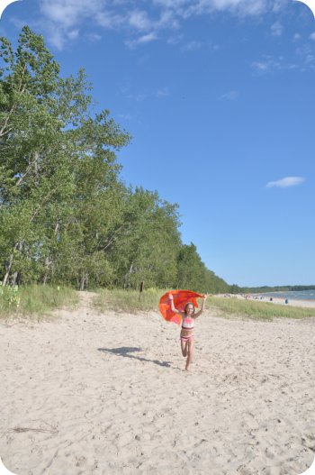 I'm a kite - Sandbanks Provincial Park