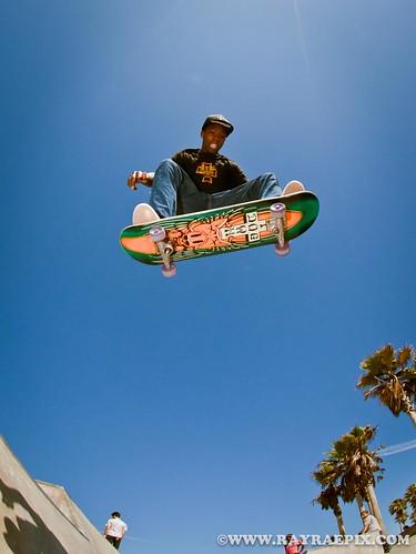Leandre Sanders for Dogtown Skates 8-22-11