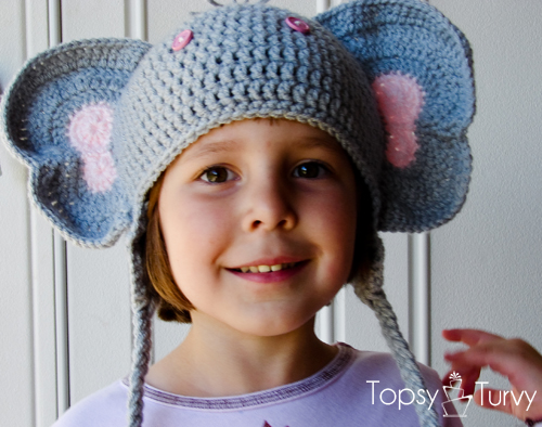 Knitted Elephant Hat