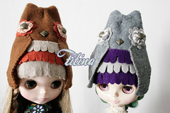 mr. owl hat's for Blythe