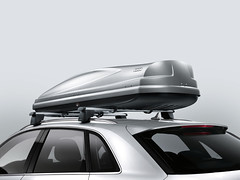 Audi Q3 - Luggage Box - Rear View (M25 Audi) Tags: roof box luggage rack accessories audi q3