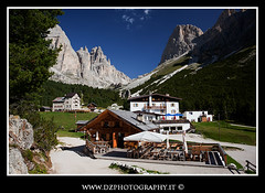 Gardeccia (Shadow13777) Tags: houses summer panorama mountain landscape estate montagna trentino dolomites dolomiti rifugi valdifassa gardeccia torridelvajolet canon24105lis canon5dmkii scattifotografici allegrisinasceosidiventa